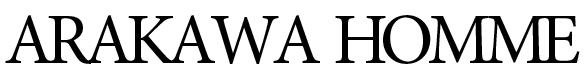 アラカワhomme|松本市メンズヘアーサロン アラカワオム